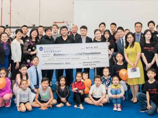 讓創造力激發青少年的慈善精神 溫哥華藝邦青少年俱樂部為列治文醫院基金會籌集超過$12,000善款
