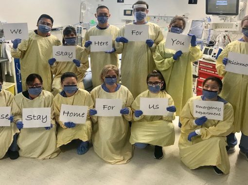 Nanji家族基金會向列治文醫院基金會捐出$100,000作「一對一」配對捐贈 鼓勵列治文社區共同抗疫