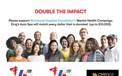 King's Auto Spa Double The Impact Fundraiser for Mental Health