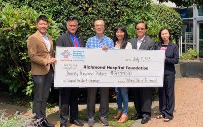 列治文扶輪社捐助列治文醫院泌尿科添置新膀胱鏡